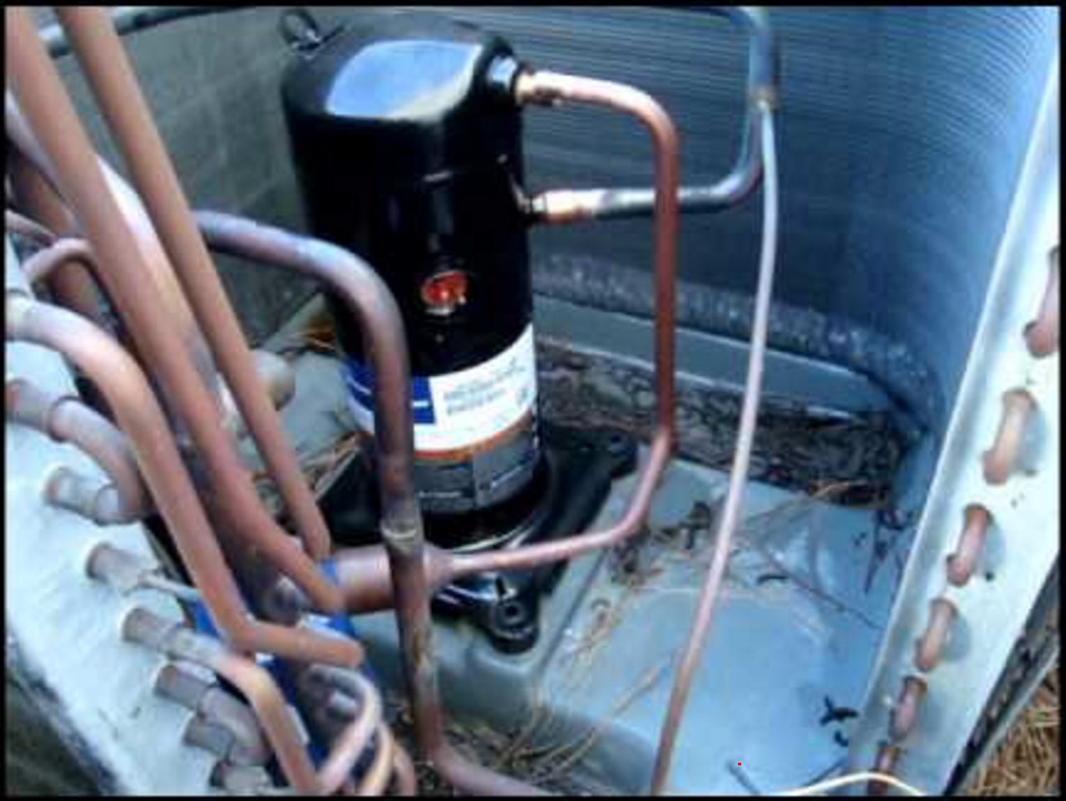 Compressor within an AC unit